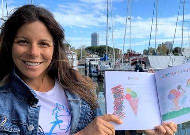 Jessica Galletti con il suo libro