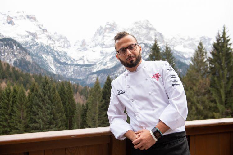 Lo chef Giovanni D'Alitta