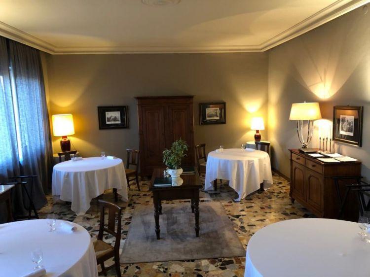 La sala del ristorante Il Centro