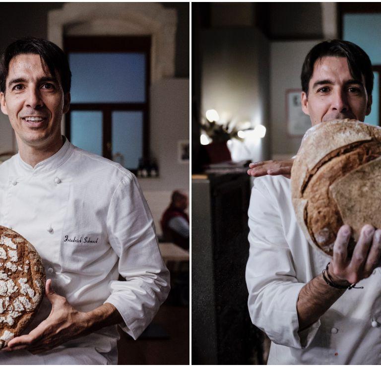 Schmuck's most recent passion: bread