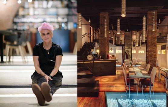Cristina Bowerman, Glass Hostaria, Roma