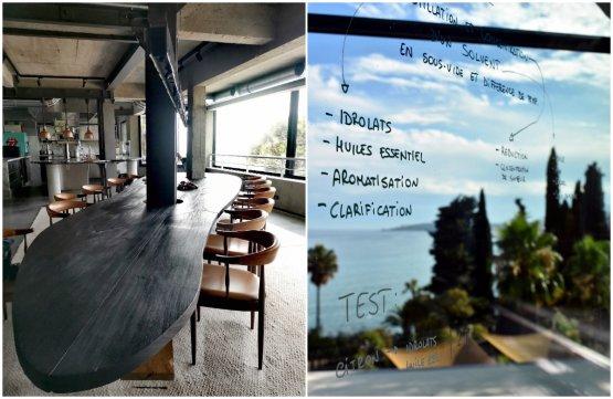 La Puerta, il nuovo bellissimo spazio esperenziale del Mirazur, posto proprio sotto il ristorante. Una sala riservata, un tavolo da 12 posti, dove poter vivere un'esperienza intimae totalizzante. Ma anche e soprattutto un rifugio per lo chef Colagreco dove poter ritirarsi a sperimentare
