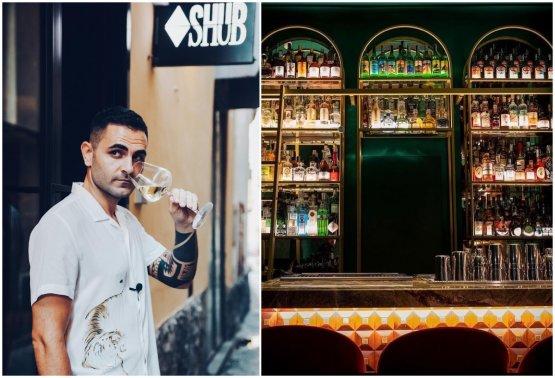 Valerio Izzo e il nuovo cocktail bar Shub a Sorrento