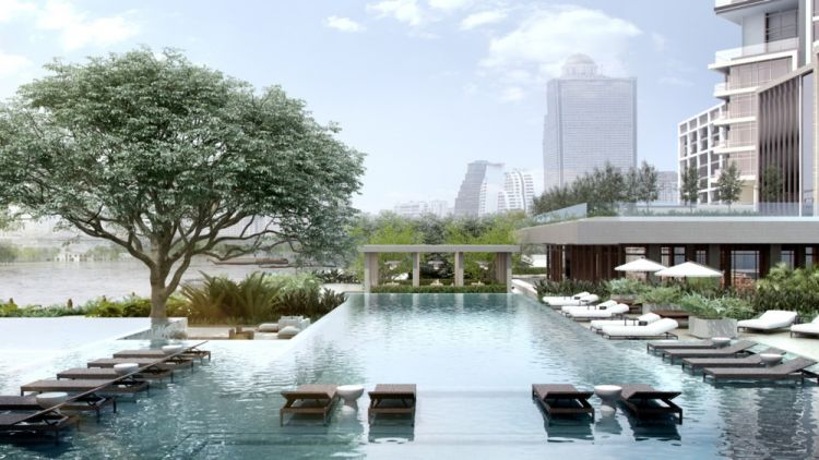 Four Seasons Hotel and Residences Bangkok a Chao Phra