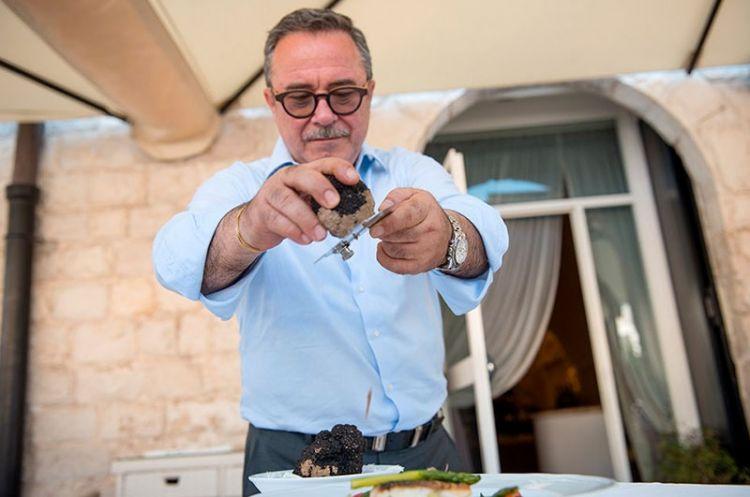 Franco Ricatti, ristorante Bacco, Barletta