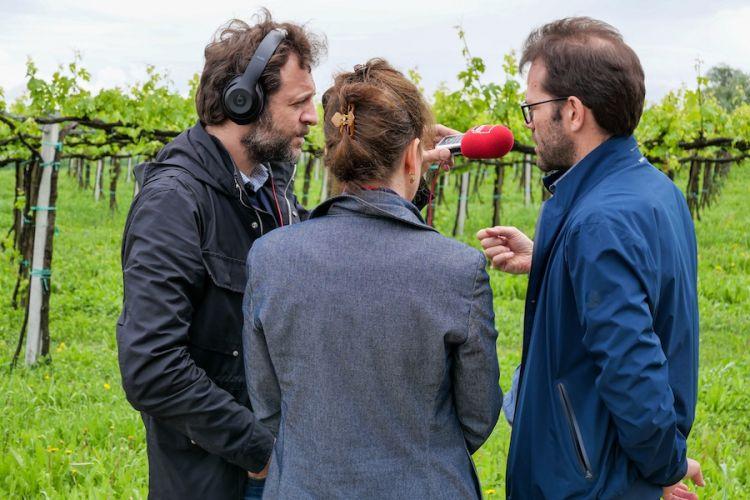 François-Régis Gaudry e Alessandra Pierini intervistano Andrea Bezzecchi di Acetaia San Giacomo