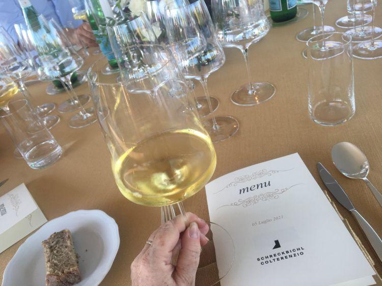 Oltre al Pinot Nero Lafóa, nel corso della serata sono statedegustate anche altre produzioni di cantinaColterenzio:Gewürztraminer Doc 2018, Sauvignon 2019, Chardonnay Doc 2019, Cabernet Sauvignon Doc 2017.