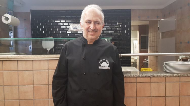 Lo chef Giancarlo Casa