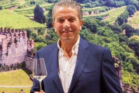 Il presidente del Consorzio, Sandro Gini