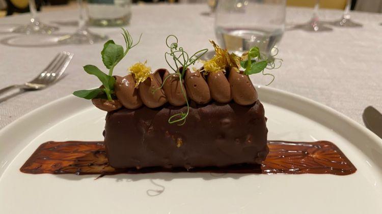 Cioccolato, caco e zenzero