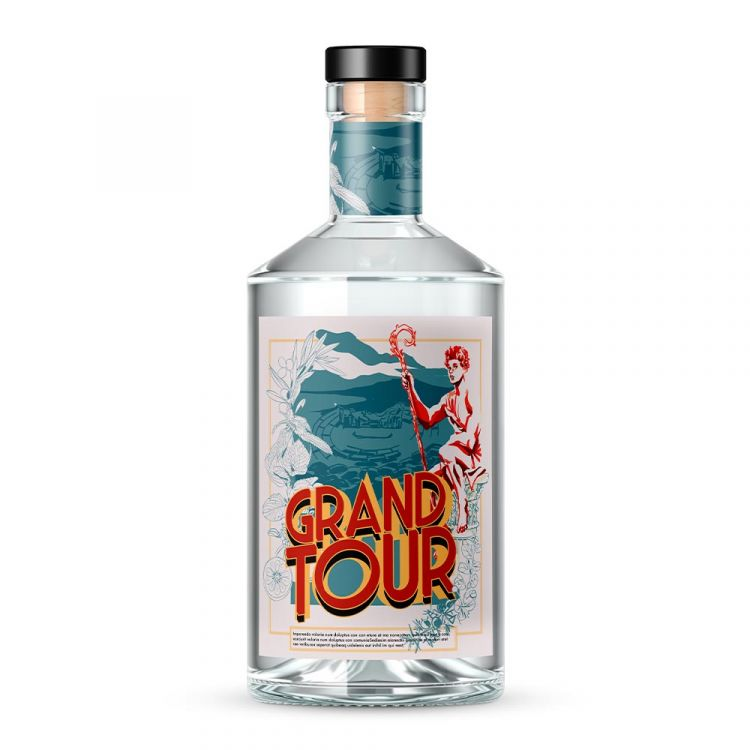 Il Grand Tour Gin, frutto dellaricetta ideata daChristian Sciglio