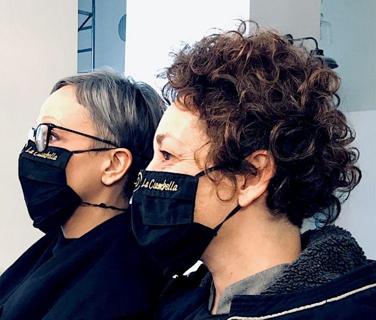 Le due titolari della Ciambella a Roma: Mirka Guberti e Francesca Ciucci
