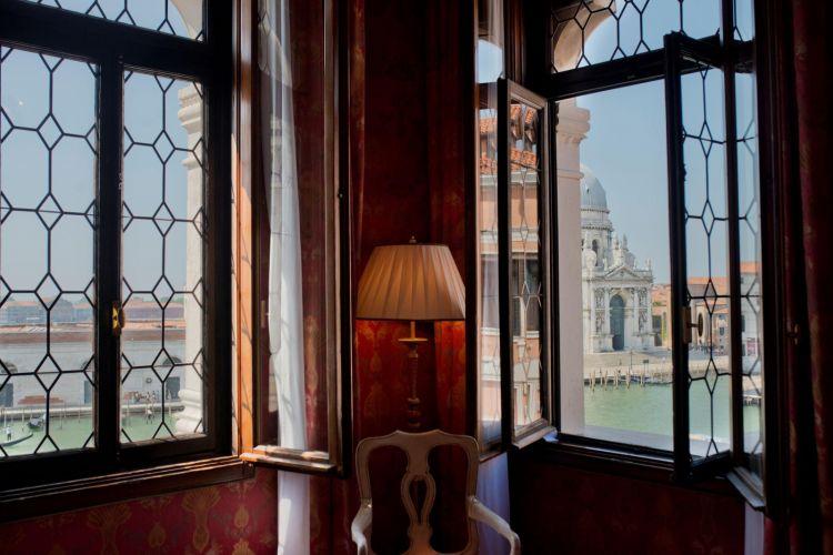 La vista da una suite di Bauer Palazzo