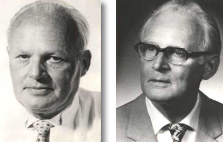 """Procaine, the first synthetic local anaesthetic, was produced in 1905 and commercialised under the name of Novocaine. Twenty years later, surgeonFerdinand Huneke(1891-1966), in the photo he's the one on the left, made a mistake that is now considered to mark the birth ofneural therapy. He mistakenly injected in the veins of his sister, who suffered from recurrent migraines, a medicine based on procaine, instead of injecting it in her muscles. Surprisingly, her pain vanished immediately, the first example of therapeutic anaesthesia as a curative method. In 1940Ferdinand Hunekealso discovered the """"phenomenon of instant recovery"""", immediately freeing his patient from the chronic pain in her shoulders that was troubling her with an injection of procaine under an old scar on the woman's leg.Ferdinand Hunekeand his brotherWalter(in the photo, he's the one on the right) concluded that illnesses could be caused and increased by so called perturbation camps, which they believed were mostly located in the paranasal sinuses, in the tonsils, in the maxilla-dental area and in the scars"""