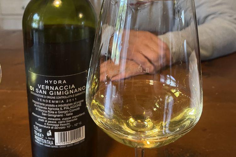 Vernaccia di San Gimignano Hydra 2011: una bellissima scoperta