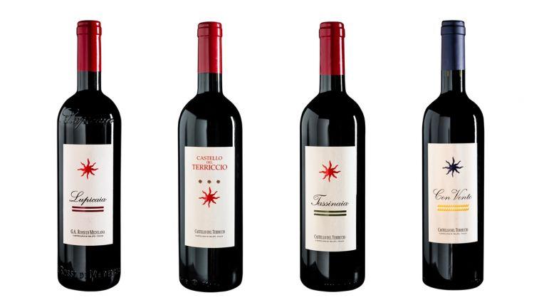 I quattro vini dell'azienda