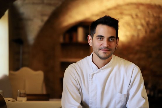 Vittorio De Benedictis, chef della Degusteria del Gigante