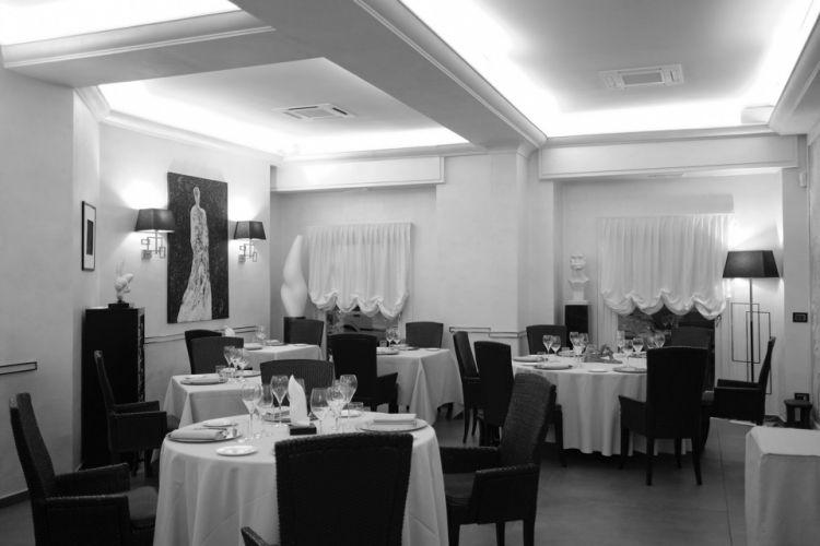 La sala del ristorante Lorenzo