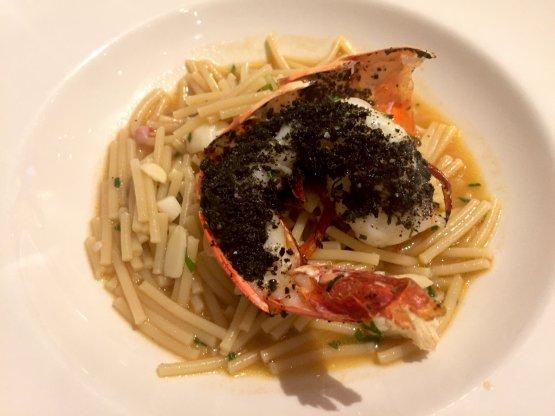Soup with Monograno Felicetti (broken) spaghetti c