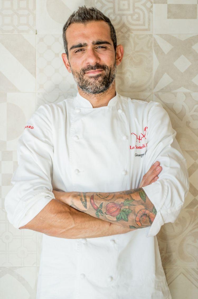 Lo chef Giuseppe Geraci