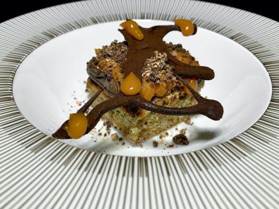 Cioccolato belga all'80%, grano saraceno, carota, olivello spinoso del maso Fasslerhof