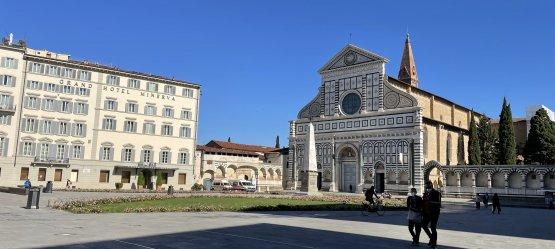 Piazza di Santa Maria Novella a Firenze