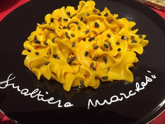 Il piatto di Marchesi, Trucioli di pasta con burro
