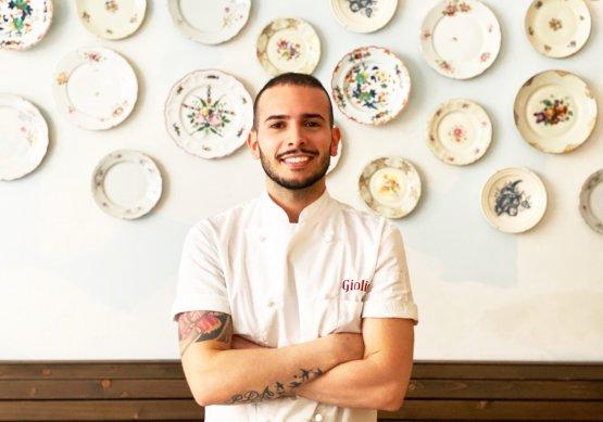 Danilo Brunetti, pizzaiolo a lezione con Ilaria Puddu lunedì