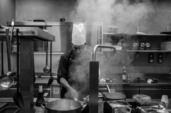 Lo chef Paolo Sanvitale