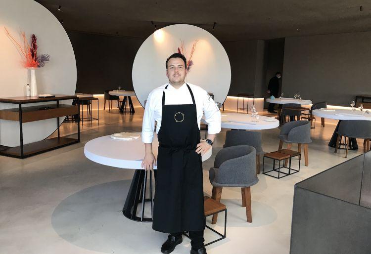 Lo chef Marco Stagi