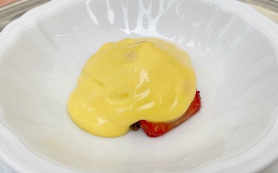 Rasumada con fragole e tamarindo