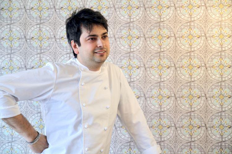 Lo chef Alberto Mori