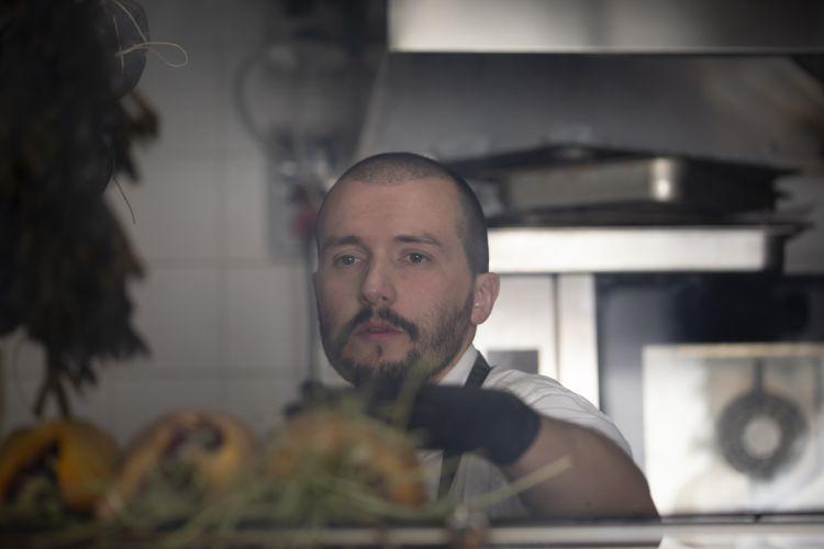 Lo chef Mirko Gatti