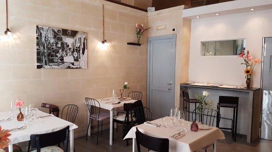 La sala del ristorante 3 Rane