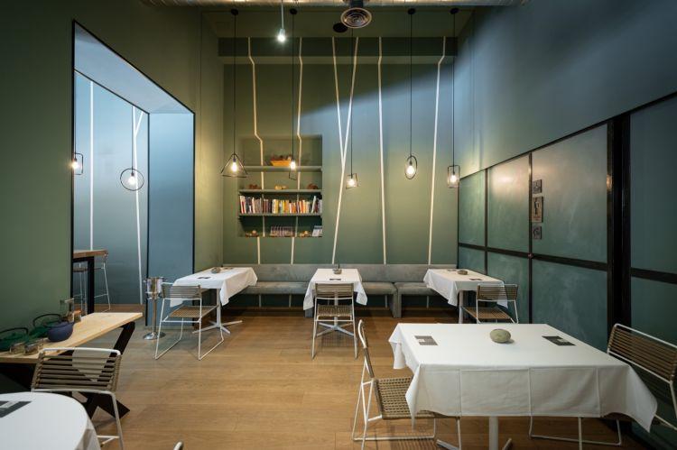 La sala del ristoranteAntonio Chiodi Latinidi Torino