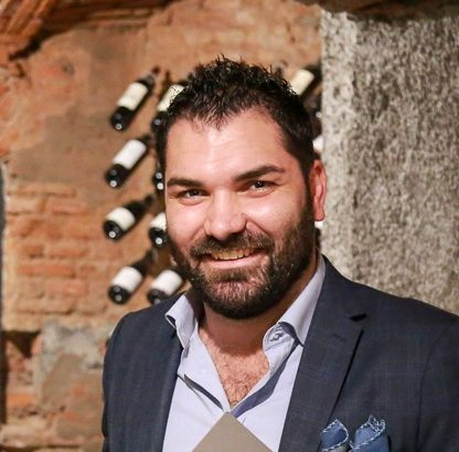 Alberto Tasinato, Alchimia a Milano, premiato da Alberto Ugolini, Brand Ambassador di Kettmeir