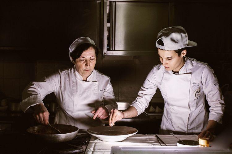 Maria Grazia Luongo e Michelina Fischetti, Oasis Sapori Antichi, Vallesaccarda (Avellino)