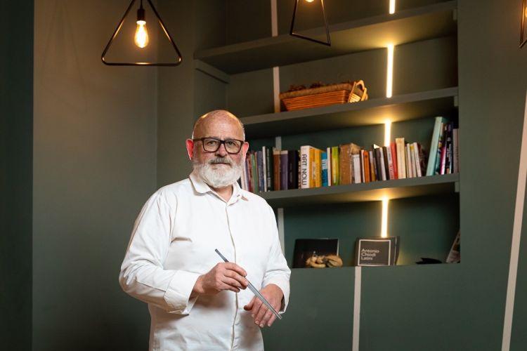 Lo chef Antonio Chiodi Latini