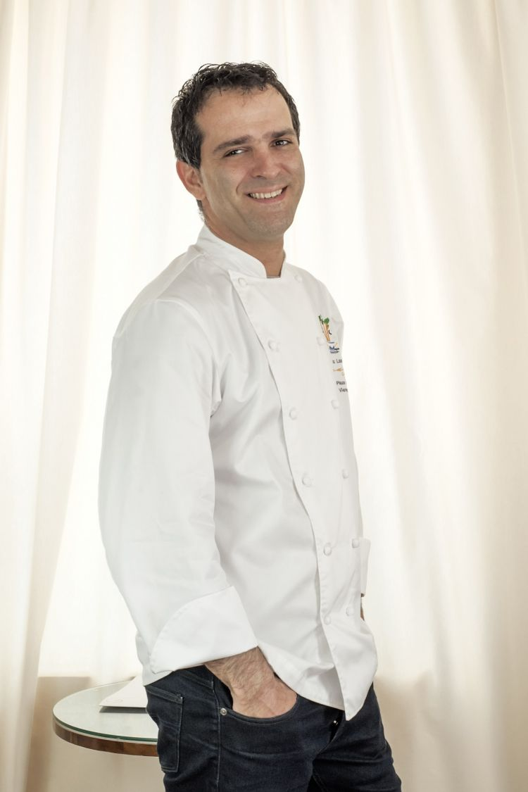 Lo chef Luca Landi