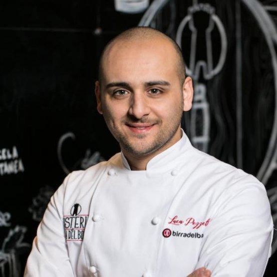 Un ritratto di Luca Pezzettachef e maestro pizzaiolo diOsteria di Birra del Borgo, Roma