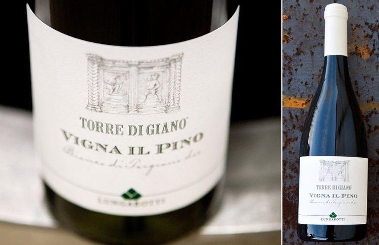 Il Torre di Giano Vigna il Pino, Bianco di Torgiano 2017, è realizzato con 50% Vermentino, 30% Grechetto e 20% Trebbiano
