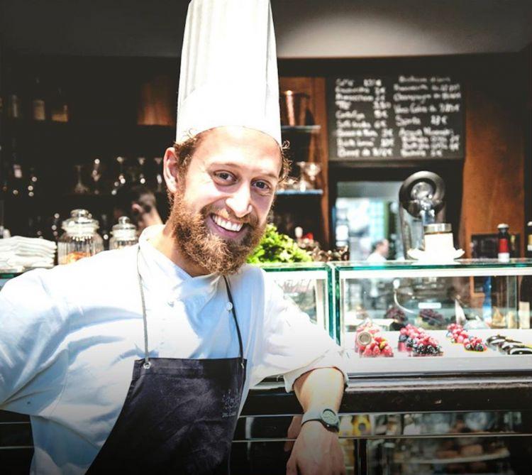 Il pastry chef Maicol Vitellozzi. Sarà con Baronetto sul palco di Identità Milano 2021