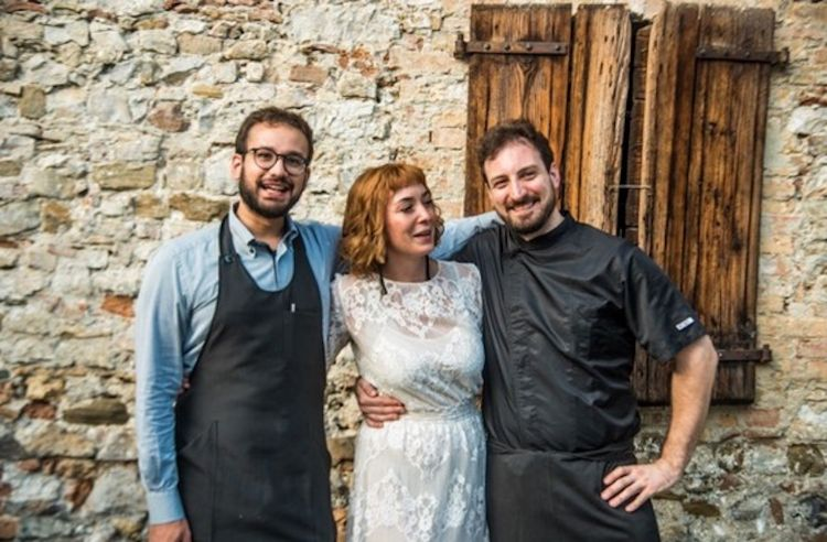 Marco Chiarotto, Kiara Nemaz e Stefano Arban