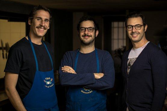 Francesco Capuzzo Dolcetta, Guglielmo Chiarapini e Mario Sansone