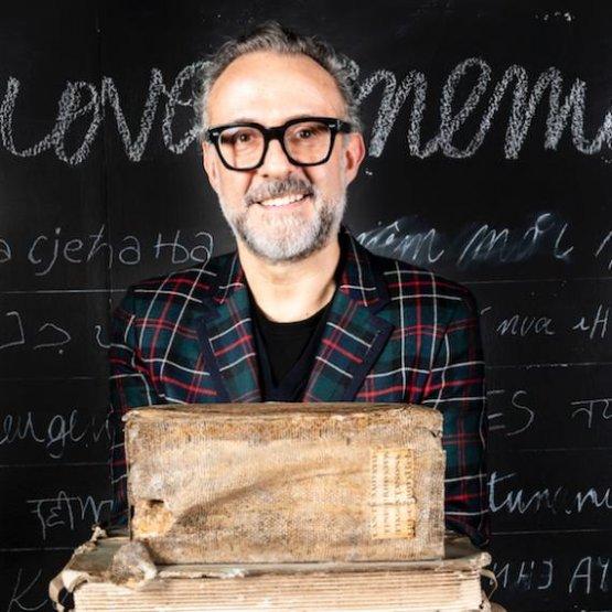 Massimo Bottura, chef dell'Osteria Francescana di Modena