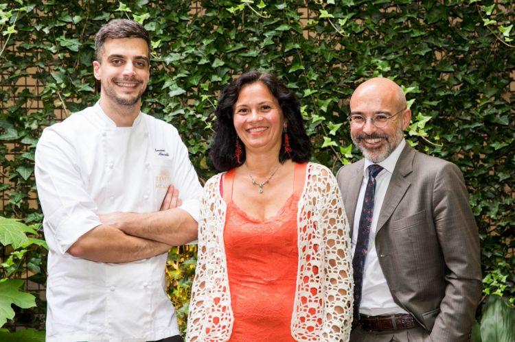 Simone Maurelli, Viviana Vecchio e Paolo Daperno