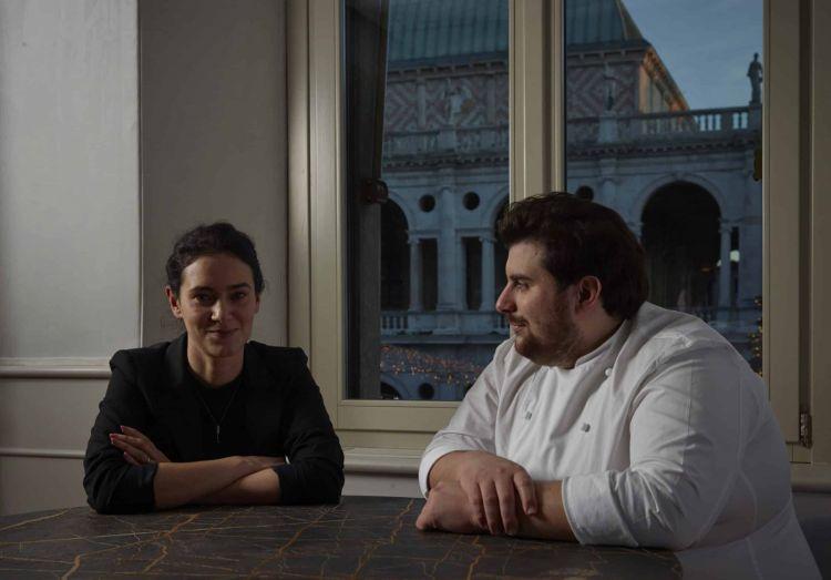 Elena Lanza e Matteo Grandi, Matteo Grandi in Basilica,da San Bonifacio al cuore di Vicenza città
