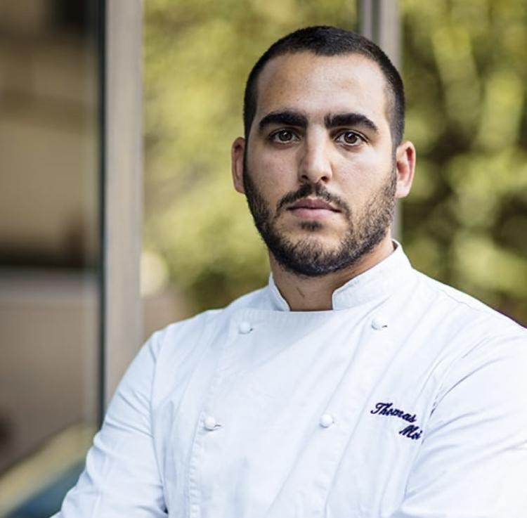 Thomas Moi, chef del ristorante Moi, Roma
