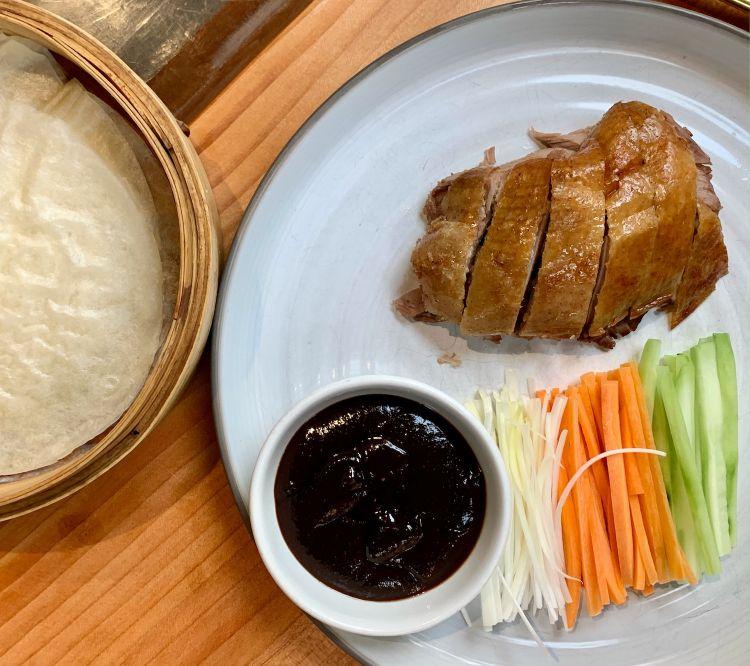 Peking duck di Mu Dim Sum