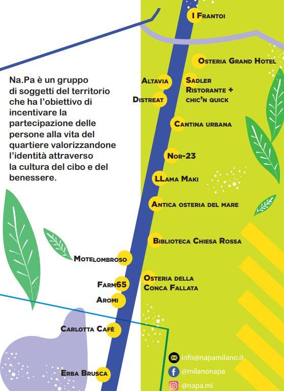 La mappa degli aderenti a Na.Pa.